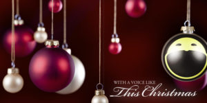 CD Cover for With A Voice Like This Christmas