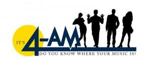 Finished logo for 4-AM