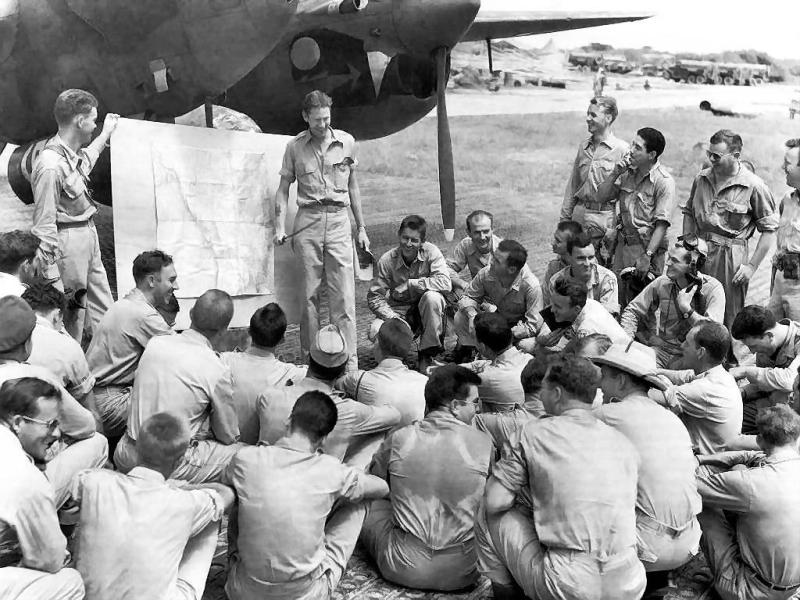 Army Air Force 459th Squadron during WWII