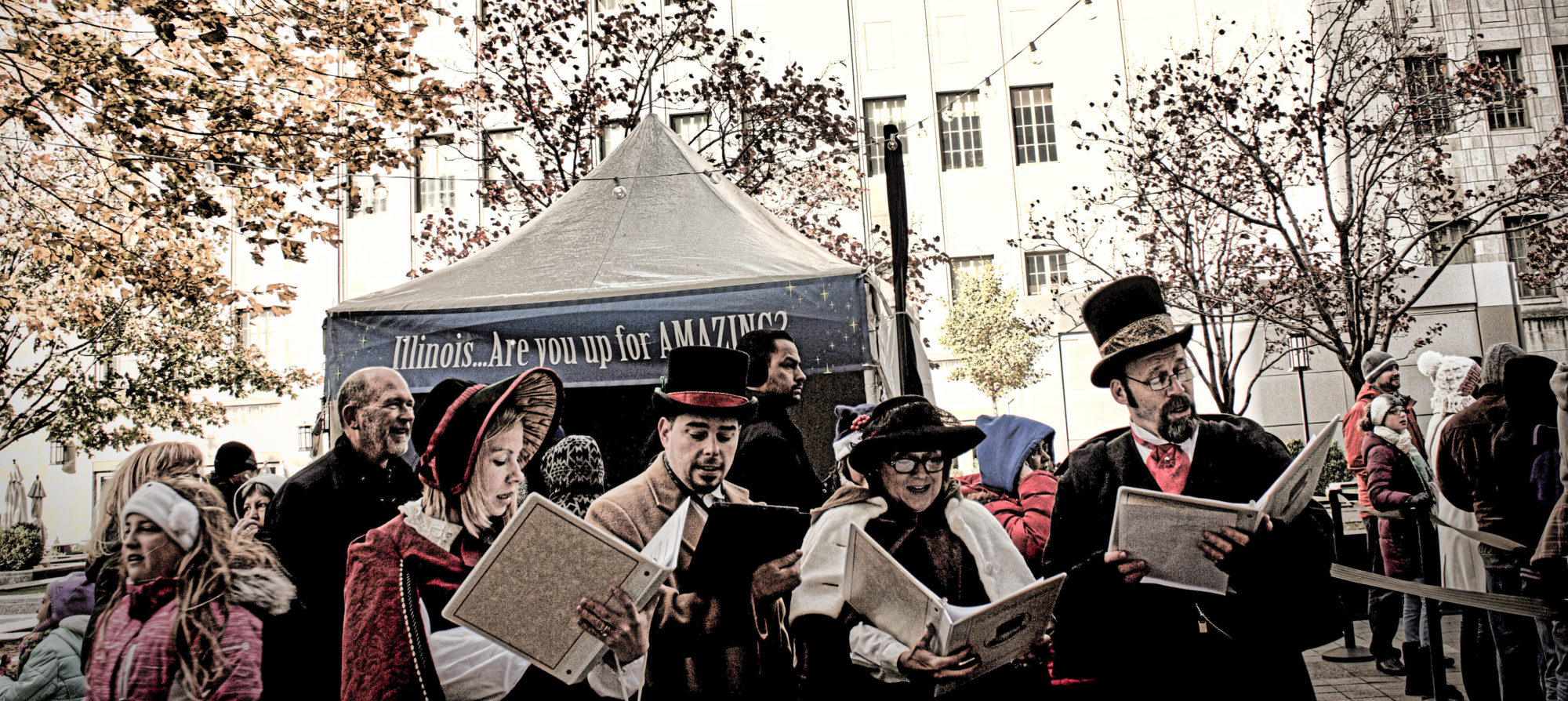 The Caroling Connection on Festival Lane