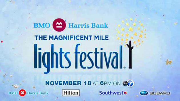 The 2017 BMO Harris Bank The Magnificent Mile Lights Festival
