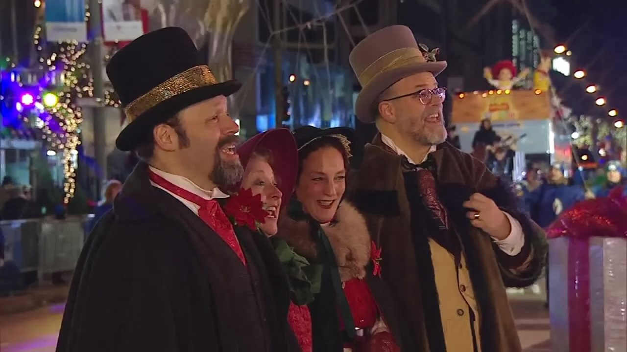 The 2017 BMO Harris Bank Magnificent Mile Lights Festival and Parade