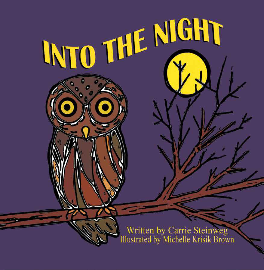 The Cover of Into the Night,  a link to the story on Stories - With A Voice Like This