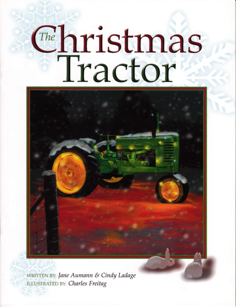 The Cover of The Christmas Tractor,  a link to the story on Stories - With A Voice Like This